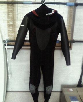 ウェットスーツ!