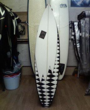 風林海山サーフボード!